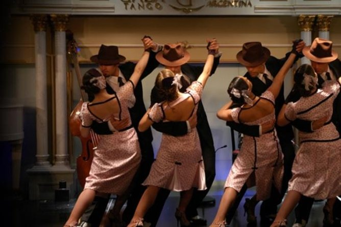Gala Tango Show with Optional Dinner in Buenos Aires