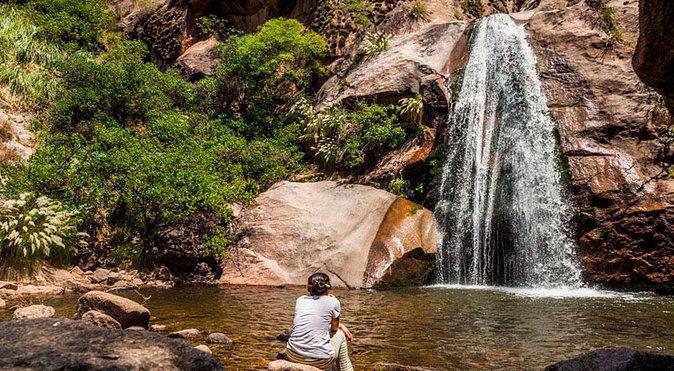 Senderismo en las cascadas del río Colorado desde Cafayate