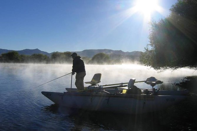 Half Day Flyfishing Or Spinning In The Limay River from Bariloche