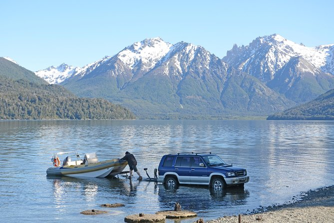 Half Day Fishing Trip On The Nahuel Huapi- Moreno Or Gutiérrez Lakes