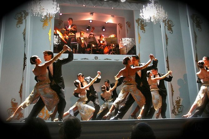 Buenos Aires Shore Excursion: Cafe de los Angelitos Dinner and Tango Show