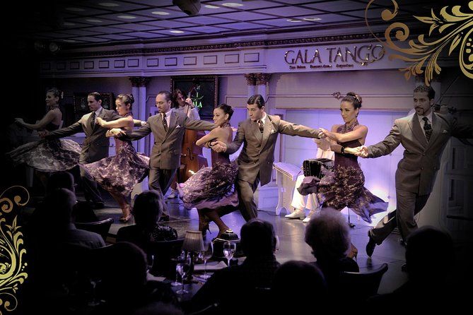 Buenos Aires Shore Excursion: Gala Tango Dinner and Tango Show