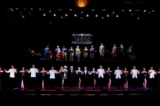 Tango Porteño Tango Show with Optional Dinner and Tango Class in Buenos Aires