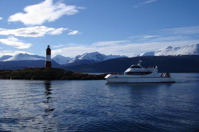 Beagle Channel and Sea Wolves Island Catamaran Cruise