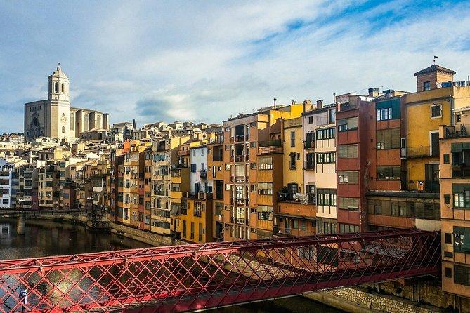 Girona Express med spel av troner Plats från Barcelona
