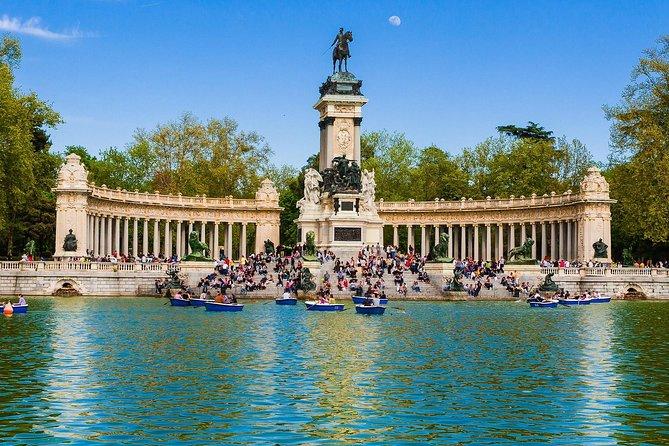 Guidet vandretur i den berømte Retiro Park i Madrid