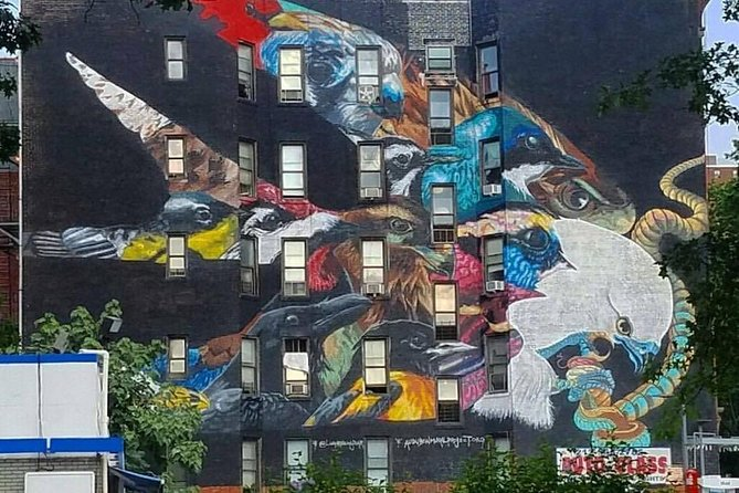 Mural by Layla Nina Yawar in NYC