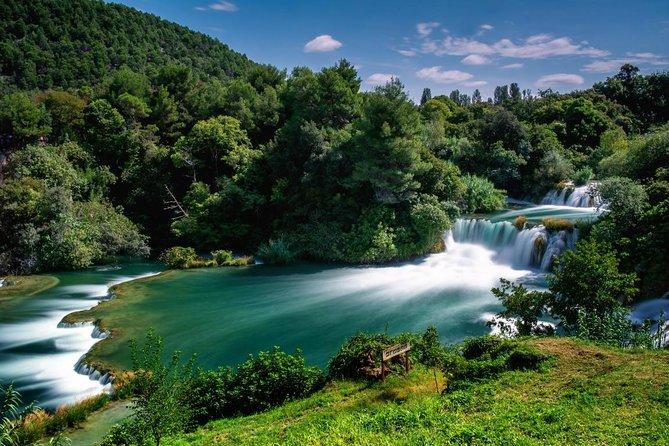 From Zadar: Krka Waterfalls and Sibenik Day Trip