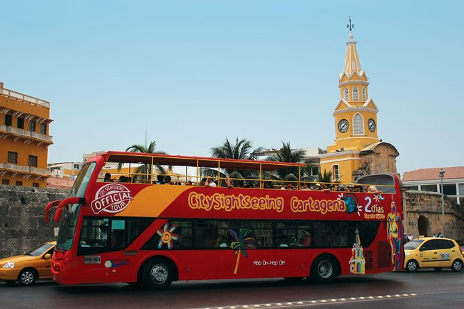 City Sightseeing Cartagena Hop-On Hop-Off Bus Tour