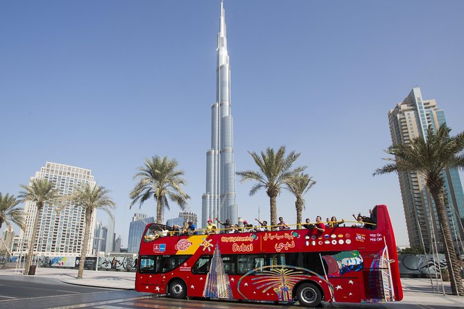 By Sightseeing Dubai Hop-On Hop-Off Bus Tour