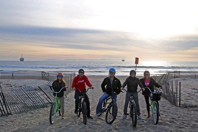 Biking, Sunset, Surf & Sips at Huntington Beach