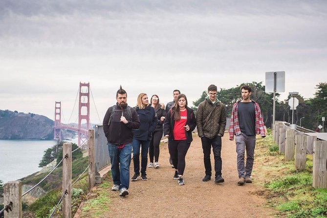 San Francisco: Golden Gate Bridge Coastal Small-Group Walking Tour
