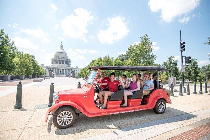 Capitol Hill and DC Monuments Tour per elektrische wagen