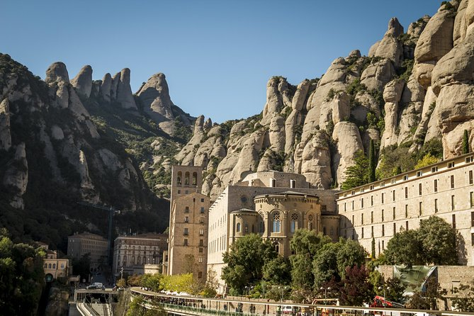 Montserrat and Oller del Mas Winery Tour from Barcelona