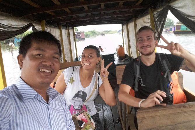 Full-Day Mechrey Floating Village & Trek Local Village by Ox-Cart Riding Tours