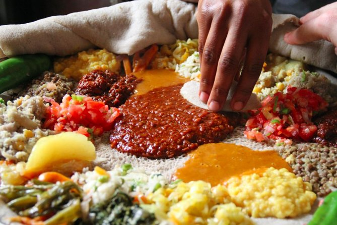 Local Ethiopian Food Tour