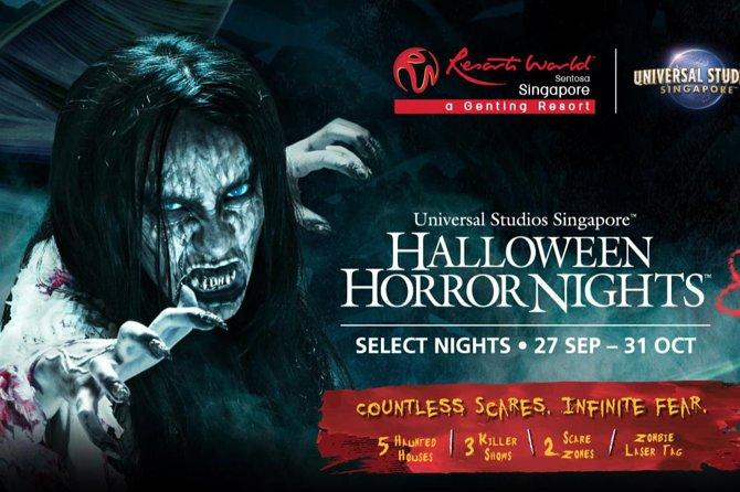 Singapore Halloween Horror Nights 2020 USS Halloween Horror Nights 8 Admission Ticket 2020   Sentosa Island
