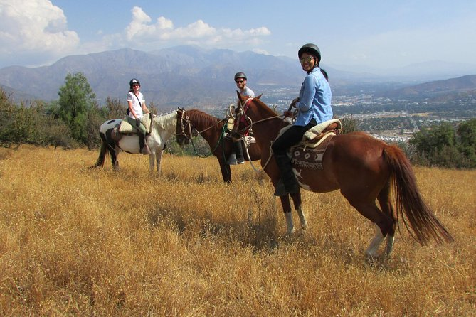 Authentic horseback ride with Chilean Cowboys in the Andes close to Santiago!