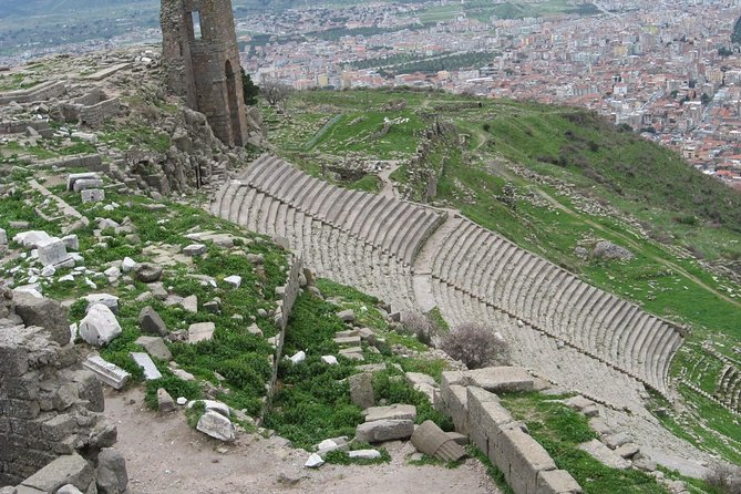 Pergamum Acropolis and Asclepion Tour from Dikili Port with Private Guide