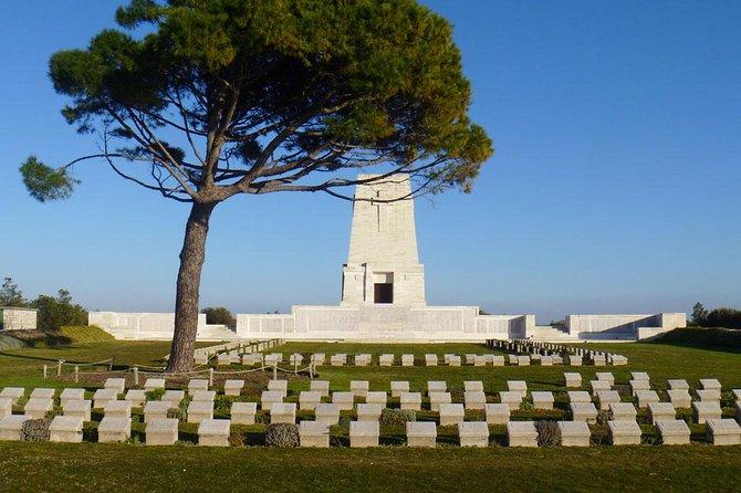 Giro dei campi di battaglia di Gallipoli dal porto di Canakkale con guida privata