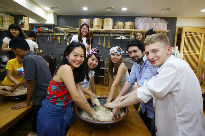 Korean Culinary Tour with Rice Wine Lesson or Vegetarian Dinner