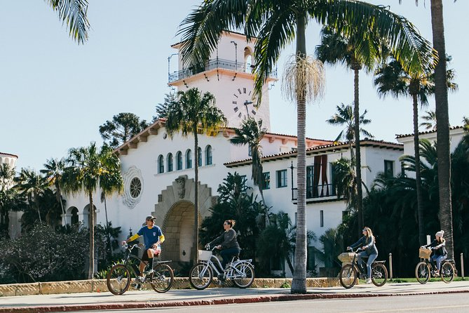 Tour en bicicleta y bebidas de Santa Bárbara