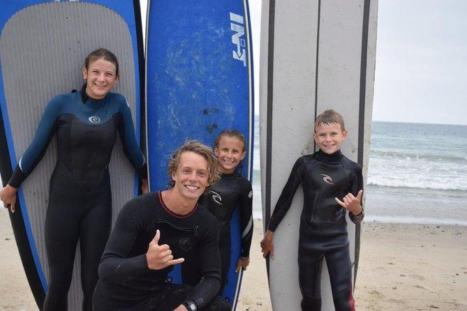 Surf Lesson in Santa Barbara