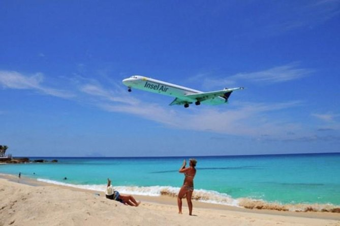 Maho Beach Insel Air MD80