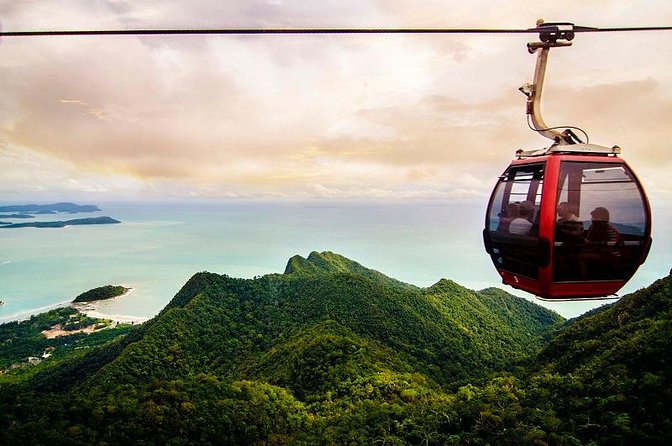 Cable Car and Oriental Village from Langkawi