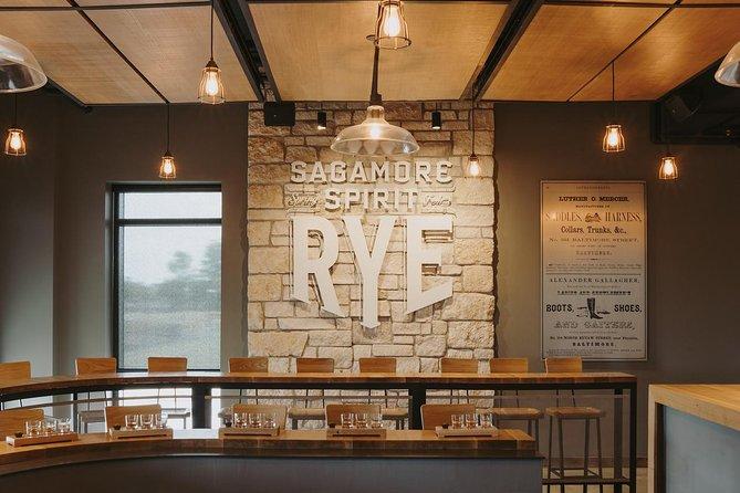 Sagamore Spirit Distillery Tasting and Tour