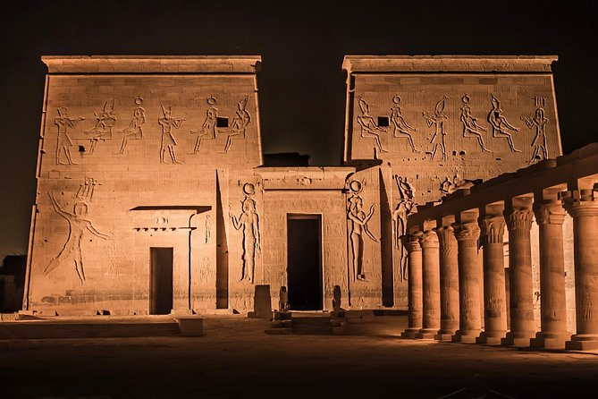 Philae Temple Sound and Light Show with Private transfers