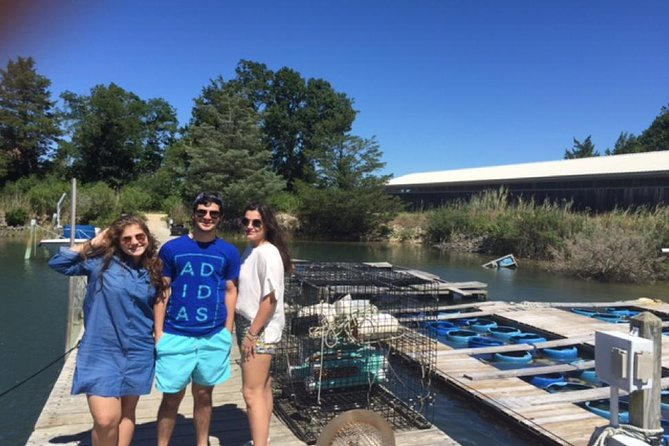 Southold Bay Oyster Farm Tour