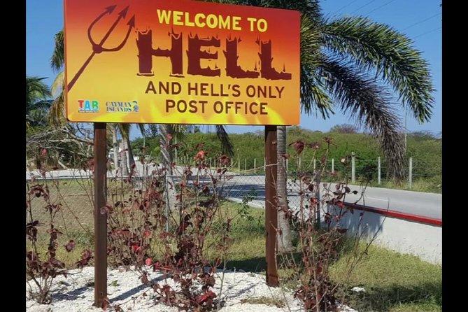 Hell Visit, Shopping und Beach Escape von den Cayman Islands