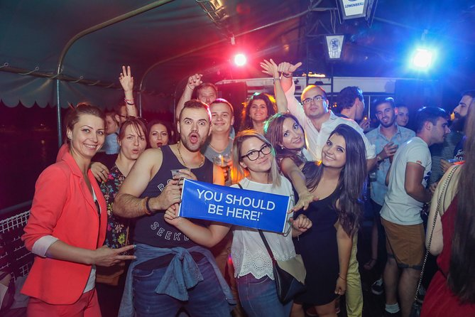 Budapest: Party Cruise with Pub Crawl option