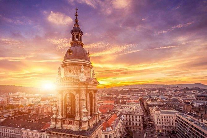 Budapest Sunset Flight door Private Plane