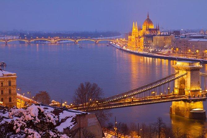 Crucero por el río Danubio en Navidad con cena o cata de vinos
