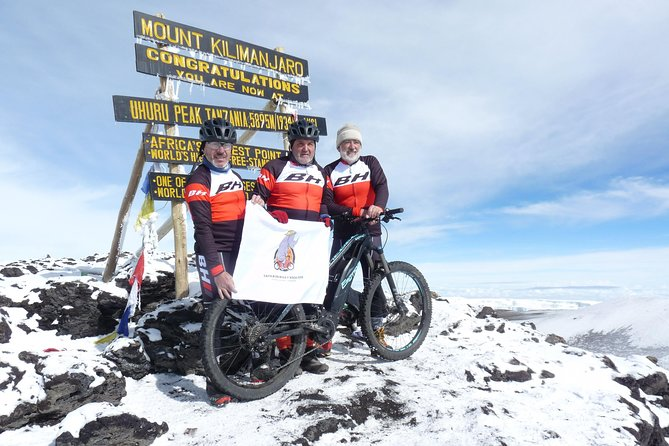 8 days Bike Trip to the top of Kilimanjaro
