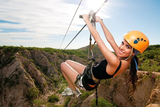 Los Cabos Zipline and Sunset Party Cruise Combo Tour