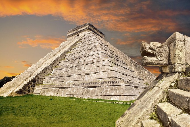VIP: Chichen Itza Tour, Light and Sound Show with Mayan Appetizers From Cancun