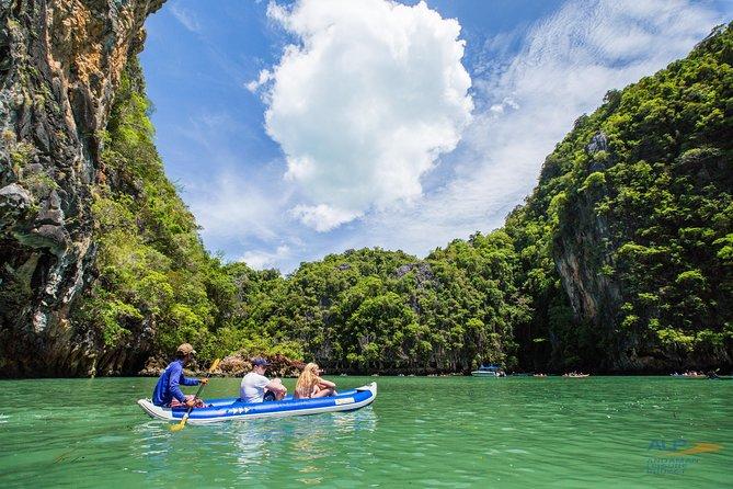 Full-Day James Bond Island & Canoe & Phang Nga Bay by Speedboat from Phuket