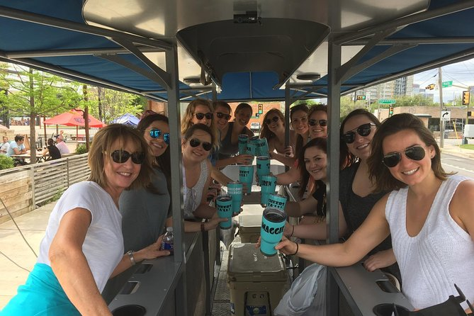 Private Party Bike For Up To 15 People In Deep Ellum