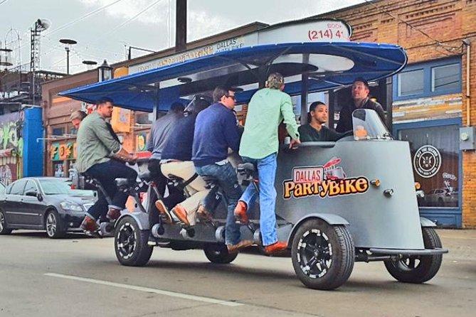 Private Dallas Party Bike Rental in Deep Ellum
