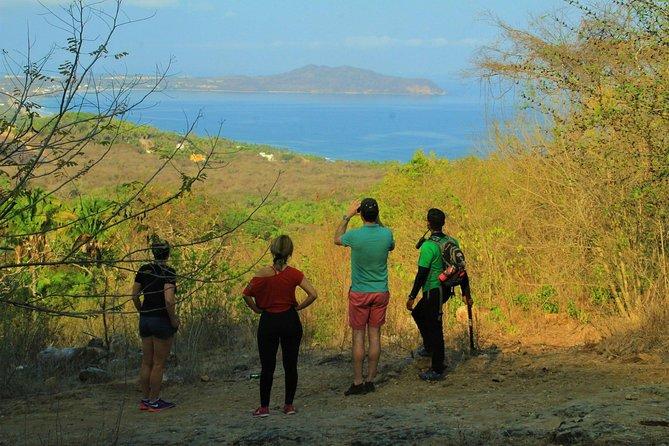 Excursión al Cerro del Mono el punto mas alto de la bahía