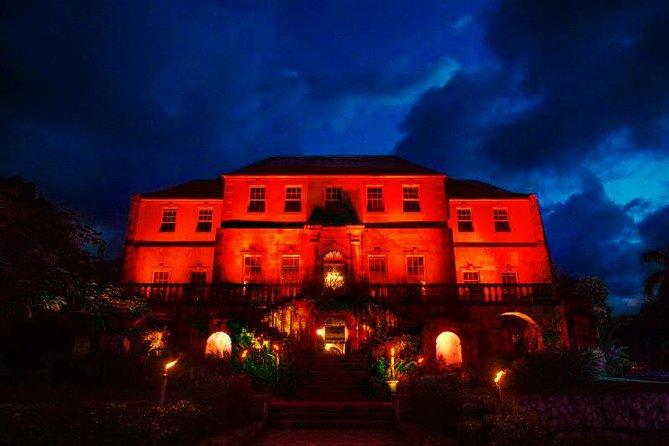 Excursão noturna pela grande casa assombrada de Rose Hall