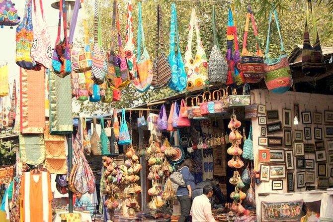 Excursion shopping privée à la carte: marchés animés de Delhi