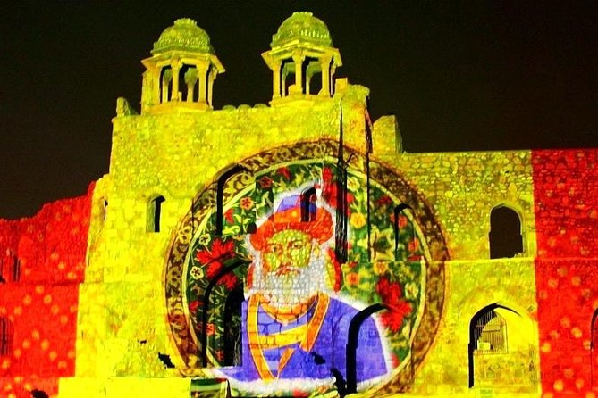 Private Tour: 'Purana Qila' Sound and Light show met diner en transfers