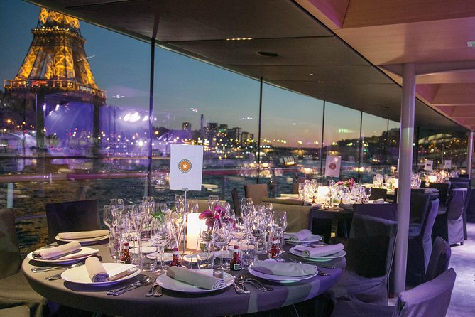 Bateaux Parisiens Christmas Seine River Cruise with 5-Course Dinner or Lunch