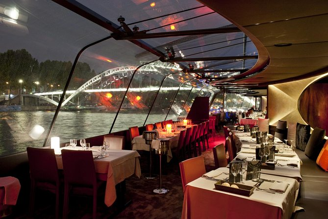 Bateaux Parisiens New Year's Eve Seine River Cruise with 7-Course Gourmet Dinner and Live Music
