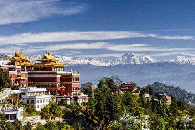 Journée de Bouddha de Namo à partir de Katmandou
