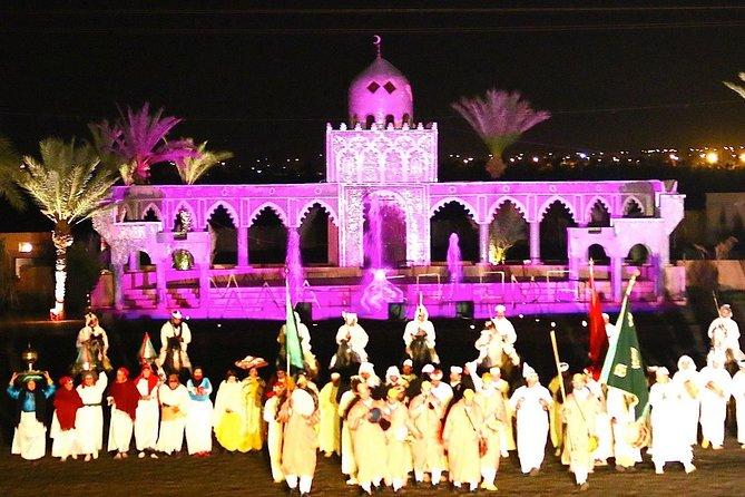 Dîner spectacle : Fantasia, Folklore et dance orientale